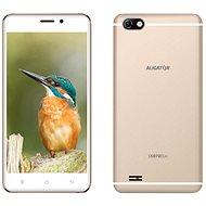 Aligator S5070 Duo 16GB zlatý - Mobilní telefon