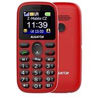 Aligator A510 Senior červený - Mobilní telefon