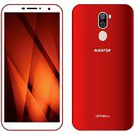 Aligator S5710 Duo červený - Mobilní telefon
