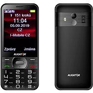 ALIGATOR A900 Senior černý - Mobilní telefon