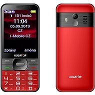 ALIGATOR A900 GPS Senior red - Mobile Phone