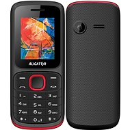 Aligator D210 Dual SIM červená - Mobilní telefon