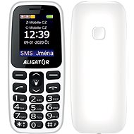 Aligator A220 Senior bílá - Mobilní telefon