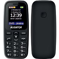 Aligator A220 Senior černá - Mobilní telefon