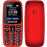 Aligator A220 Senior červená - Mobilní telefon