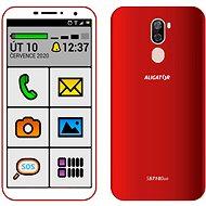 Aligator S5710 Senior 16GB červená - Mobilní telefon