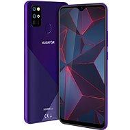 Aligator S6500 Duo Crystal 32GB fialová - Mobilní telefon
