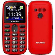 Aligator A510 Senior červená - Mobilní telefon