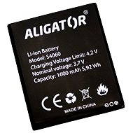 Akumulátor pro Aligator S4060 DUO, Li-Ion, bulk - Baterie pro mobilní telefon