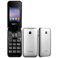Alcatel 2051D Metal Silver - Mobilní telefon