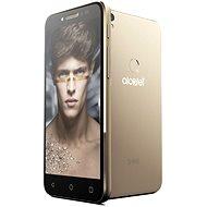 ALCATEL SHINE LITE Satin Gold - Mobilní telefon