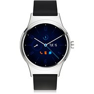 TCL MOVETIME Smartwatch TPU Silver/Black - Chytré hodinky