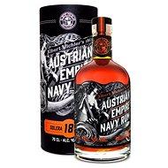 Albert Michler Distillery Austrian Empire Navy Rum 18Y 0,7l 40 % tuba - Rum