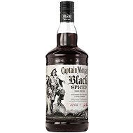 Captain Morgan Black Spiced 1000 Ml 40 % - Rum