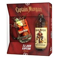 Captain Morgan Spiced Gold + Korbel 700 Ml 35 % Gb - Rum