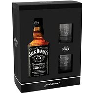 Jack Daniel'S 700 Ml 40% + 2X Sklo Gb - Whiskey