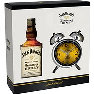 Jack Daniel'S Honey + Retro Budík 700 Ml 35% Gb - Whiskey