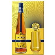 Metaxa 5* 0,7l 38% + 2x sklo GB - Brandy