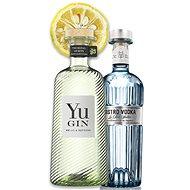 Yu Gin 43% & Bistro vodka 40% 2×0,7l - Gin