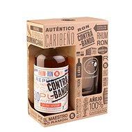 Contrabando Anejo 5y 0.7l 38% + 1x Glass GB - Rum