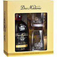 Dos Maderas Seleccion 0.7l 42% + 2x Glass GB - Rum