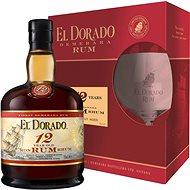 El Dorado 12Y 0.7l 40% + 1x Glass GB - Rum