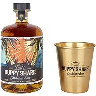 Duppy Share 0,7l 40% + 1x sklo GB - Rum
