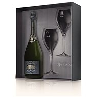 Charles Heidsieck Brut Reserve 0.75l 12% + 2x Glass GB - Champagne