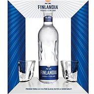 Finlandia Vodka 0.7l 40% + 2x glass GB - Vodka