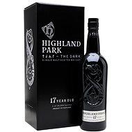Highland Park The Dark 17Y 0,7l 52,9% L.E. - Whisky