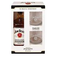 Jim Beam White 0,7l 40% + 2x sklo GB - Whiskey