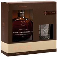 Woodford Reserve 0.7l 43.2% + 1x Glass - Whiskey