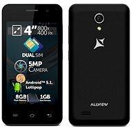 Allview A5 Easy Black Dual SIM - Mobilní telefon