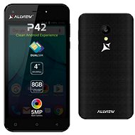 Allview P42 Černý - Mobilní telefon