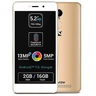 Allview P9 Life LTE DS Gold - Mobilní telefon