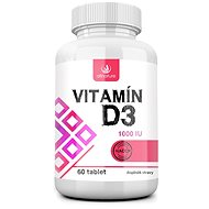 Allnature Vitamín D3 60 tbl. - Vitamín D