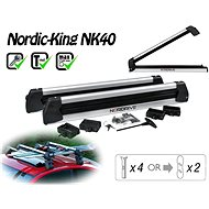 Nordrive Nordic King Evo 4-pair ski / 2 snowboards - Ski carrier