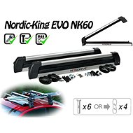 Nordrive Nordic King Evo Carrier 6 pairs of skis / 4 snowboards - Ski carrier