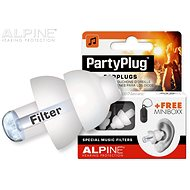 ALPINE PartyPlug White - Špunty do uší