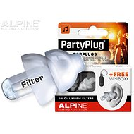 ALPINE PartyPlug Transparent - Špunty do uší