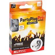 ALPINE PartyPlug Pro Natural - Špunty do uší