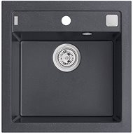 ALVEUS Formic 20 - G 91 black - Granite Sink