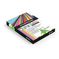 Kancelářský papír Alza Color A4 MIX pastelový 5x 20 listů