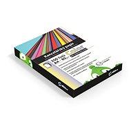Kancelářský papír Alza Color A4 MIX recyklovaný 10x 20 listů