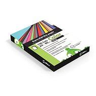 Kancelářský papír Alza Color A4 zelený