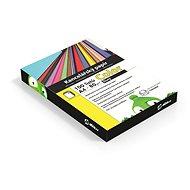 Kancelářský papír Alza Color A4 žlutý