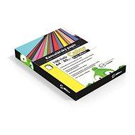 Kancelářský papír Alza Color A4 žlutý reflexní