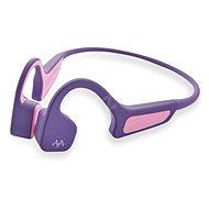 AMA BonELF X fialová - Bezdrátová sluchátka