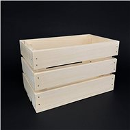 AMADEA Wooden Box made of Solid Wood, 24x15x14cm - Storage Box