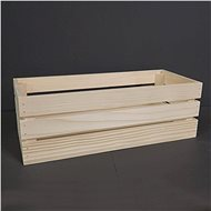 AMADEA Wooden Box made of Solid Wood, 45x19x15cm - Storage Box